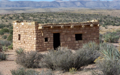 Traditional Hopi Pueblo Style Home