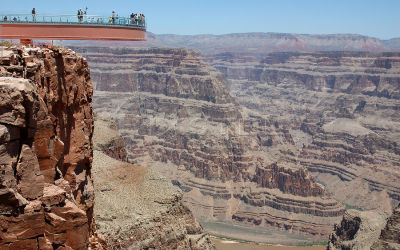 Grand Canyon Skywalk View