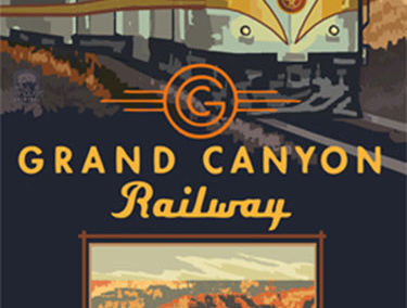 Grand Canyon Railway Poster