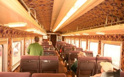GC Railway 1st Class Car